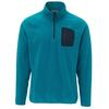 FRILUFTS GORBEA FLEECE L/S ZIP SHIRT Männer - Fleecepullover - OCEAN DEPTHS
