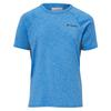 Columbia SILVER RIDGE II S/S TEE Kinder - Funktionsshirt - SUPER BLUE HEATHER