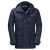 Jack Wolfskin BRIDGEPORT JACKET Männer - Regenjacke - NIGHT BLUE