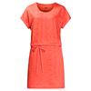 Jack Wolfskin SHIBORI DRESS Frauen - Kleid - HOT CORAL ALL OVER