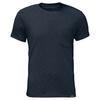 Jack Wolfskin TRAVEL T Männer - Funktionsshirt - NIGHT BLUE