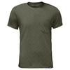 Jack Wolfskin TRAVEL T Männer - Funktionsshirt - WOODLAND GREEN
