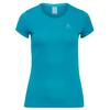 Odlo SUW TOP CREW NECK S/S ACTIVE F-DRY LIGHT Frauen - Funktionsshirt - CRYSTAL TEAL