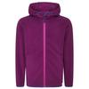 FRILUFTS STIERVA HOODED FLEECE JACKET Kinder - Fleecejacke - CERISE