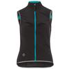 Triple2 KAMSOOL SUPERLIGHT WIND VEST Frauen - Weste - JET BLACK