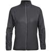 Icebreaker WMNS RUSH WINDBREAKER Frauen - Windbreaker - BLACK/EMBOSSED