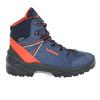 Lowa LEDRO GTX MID JUNIOR Kinder - Wanderstiefel - BLAU/ORANGE