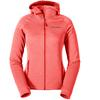 Eddie Bauer HIGH ROUTE FLEECEJACKE MIT KAPUZE Frauen - Fleecejacke - TIGER LILY