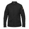 Fjällräven GREENLAND ZIP SHIRT JACKET M Männer - Outdoor Hemd - BLACK