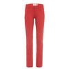 Fjällräven ABISKO STRETCH TROUSERS W Frauen - Trekkinghose - RED