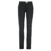 Fjällräven ABISKO STRETCH TROUSERS W Frauen - Trekkinghose - BLACK