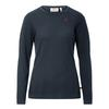 Fjällräven HIGH COAST MERINO SWEATER W Frauen - Wollpullover - NIGHT SKY