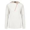 The North Face VISTATEK 1/2 ZIP HOOD Frauen - Sweatshirt - MOONLIGHT IVORY