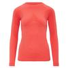 Ortovox 230 COMPETITION LONG SLEEVE Frauen - Funktionsunterwäsche - HOT CORAL