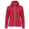 FRILUFTS VORMSI HOODED FLEECE JACKET Frauen - Fleecejacke - RED BUD