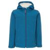 FRILUFTS HEIMAEY HOODED SOFTSHELL JACKET Kinder - Softshelljacke - MOROCCAN BLUE