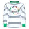 FRILUFTS DUNCAN PRINTED LONGSLEEVE Kinder - Funktionsshirt - BRIGHT WHITE