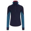 Icebreaker 260 ZONE LS HALF ZIP HOOD Männer - Funktionsshirt - MIDNIGHT NAVY/PRUSSIAN BLUE