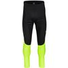 Gore Wear C3 PARTIAL GORE WINDSTOPPER TIGHTS+ Männer - Radhose - BLACK/NEON YELLOW