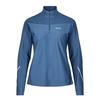 Gore Wear R3 DAMEN THERMO ZIP SHIRT LANGARM Frauen - Fleecepullover - DEEP WATER BLUE