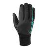 Salomon EQUIPE GLOVE Unisex - Skihandschuhe - BLACK/WATERFALL