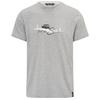 Chillaz T-SHIRT FEEL THE SPIRIT - T-Shirt - GREY MELANGE