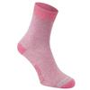 Craghoppers NOSILIFE TWIN SOCK PACK Frauen - Freizeitsocken - SOFT GREY MARL/ENGLISH ROSE
