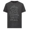 Houdini M' S ACTIVIST MESSAGE TEE Männer - Funktionsshirt - TRUE BLACK