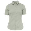 Fjällräven HIGH COAST STRETCH SHIRT SS W Frauen - Outdoor Bluse - SAGE GREEN