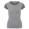 Fjällräven KEB WOOL T-SHIRT W Frauen - Funktionsshirt - LIGHT GREY-GREY