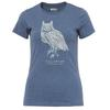 Fjällräven OWL PRINT T-SHIRT W Frauen - T-Shirt - UNCLE BLUE