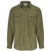 Fjällräven ÖVIK TRAVEL SHIRT LS M Männer - Outdoor Hemd - GREEN