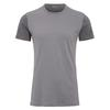 Fjällräven KEB WOOL T-SHIRT M Männer - Funktionsshirt - LIGHT GREY-GREY