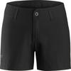 Arc'teryx CRESTON SHORT 4.5 WOMEN' S Frauen - Shorts - BLACK