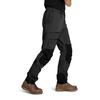 Is Not Enough ARES TREKKING PRO PANTS Männer - Trekkinghose - JET BLACK