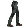 Is Not Enough ARETE ZIPOFF PANTS Frauen - Trekkinghose - DARK SHADOW
