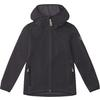 Fjällräven KIDS KEB FLEECE HOODIE Kinder - Fleecejacke - DARK GREY-BLACK