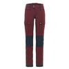 Fjällräven KEB TOURING TROUSERS W SHORT Frauen - Trekkinghose - DARK GARNET-NIGHT SKY