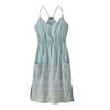 Patagonia W' S LOST WILDFLOWER DRESS Frauen - Kleid - FOREST SONG: ATOLL BLUE