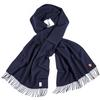Fjällräven SOLID WIDE RE-WOOL SCARF Unisex - Schal - DARK NAVY