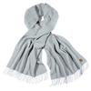 Fjällräven SOLID WIDE RE-WOOL SCARF Unisex - Schal - GREY