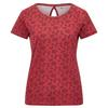 FRILUFTS HEDJE PRINTED T-SHIRT Frauen - T-Shirt - EARTH RED