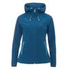 FRILUFTS ENNSKRAXN HOODED SOFTSHELL JACKET Frauen - Softshelljacke - BLUE OPAL