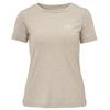 FRILUFTS BITONTO EMBROIDERED T-SHIRT Frauen - Funktionsshirt - ALUMINIUM