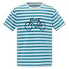 FRILUFTS PENICHE PRINTED T-SHIRT Kinder - Funktionsshirt - FJORD BLUE