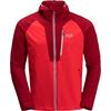 Jack Wolfskin KANUKA POINT JACKET M Männer - Softshelljacke - PEAK RED