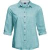 Jack Wolfskin EMERALD LAKE SHIRT W Frauen - Outdoor Bluse - AQUA