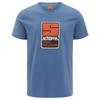 Schöffel T SHIRT ORIGINALS KITIMAT Männer - T-Shirt - BLUE HORIZON