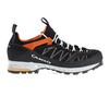 Aku TENGU LOW GTX Unisex - Wanderschuhe - BLACK/ORANGE