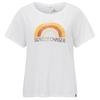 Prana CHEZ TEE Frauen - T-Shirt - WHITE SUNSET
